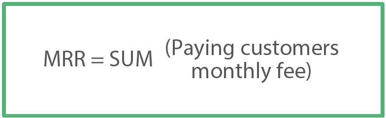 Monthly Recurring Revenue MRR