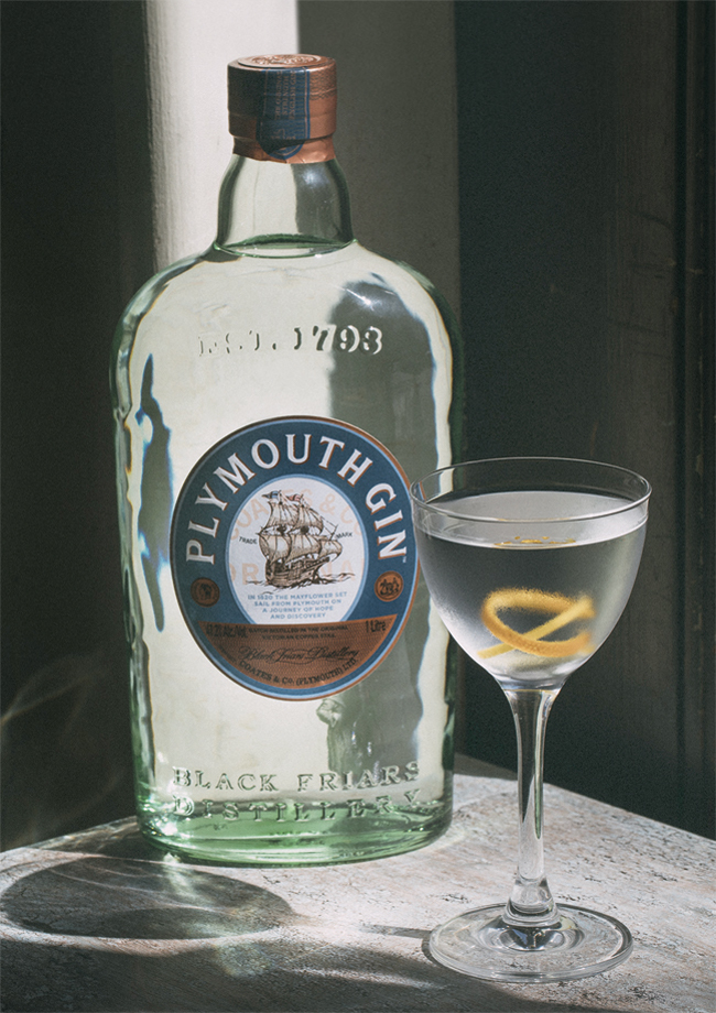 Martini - Everything you need to know   Plymouth Gin