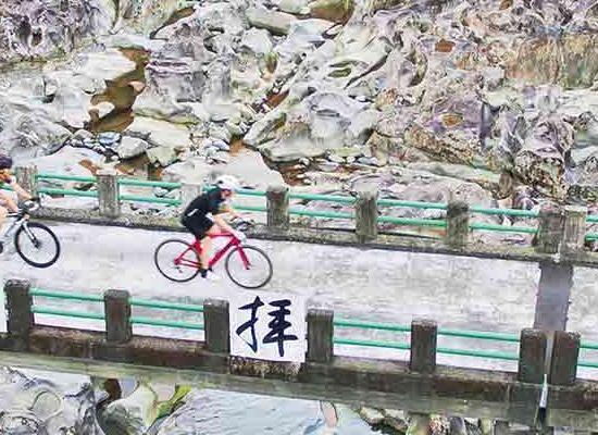 Cycling across Wakayama