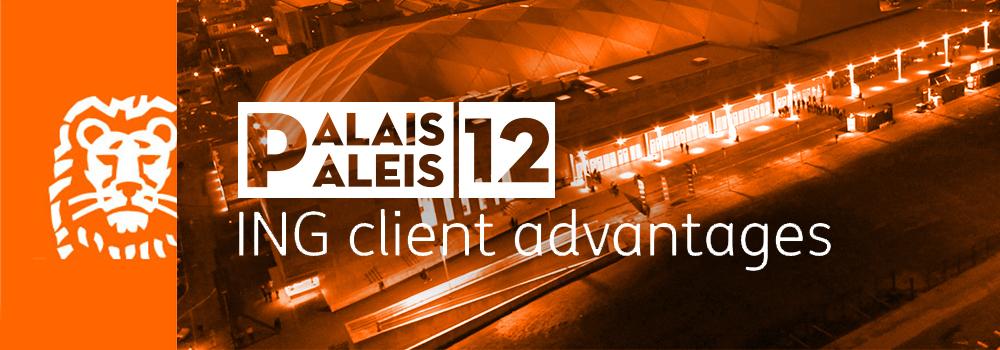 ING Priority Acces - Paleis 12 voordeel
