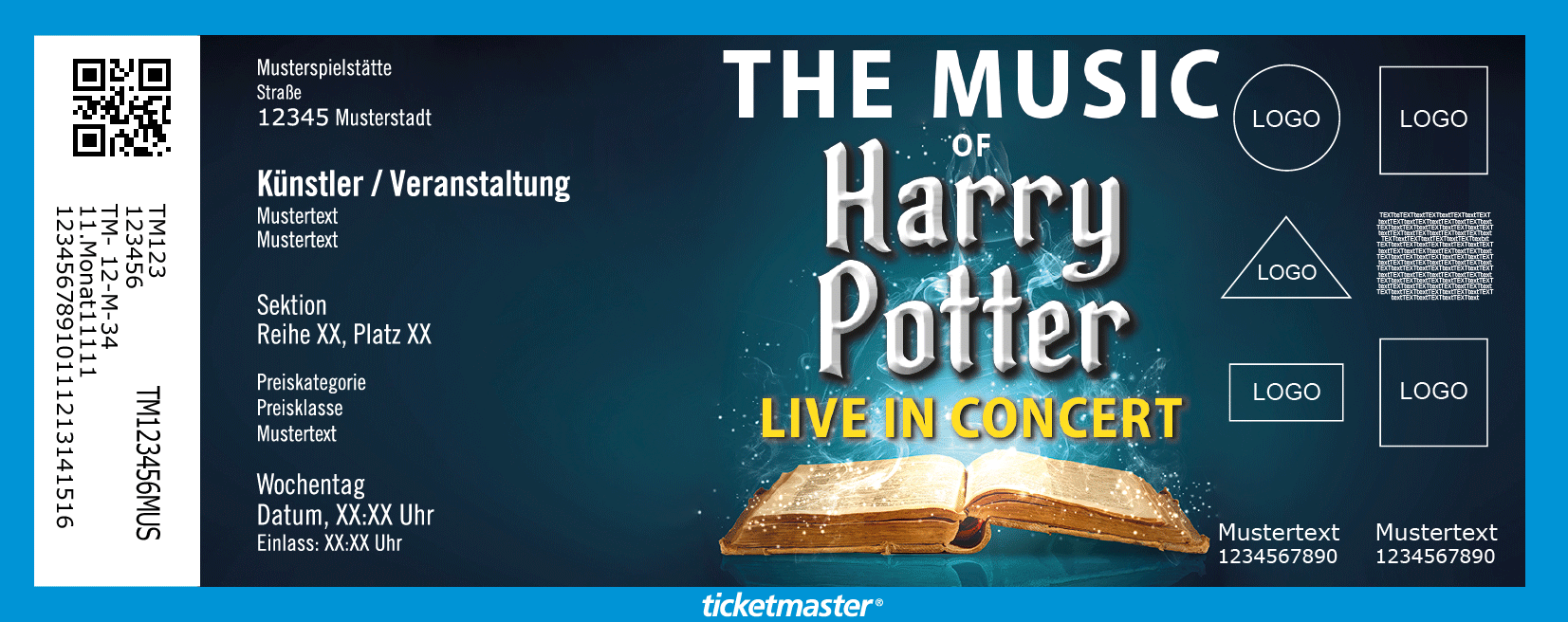 The Music Of Harry Potter Live In Concert Tickets Berlin 22 01 2022