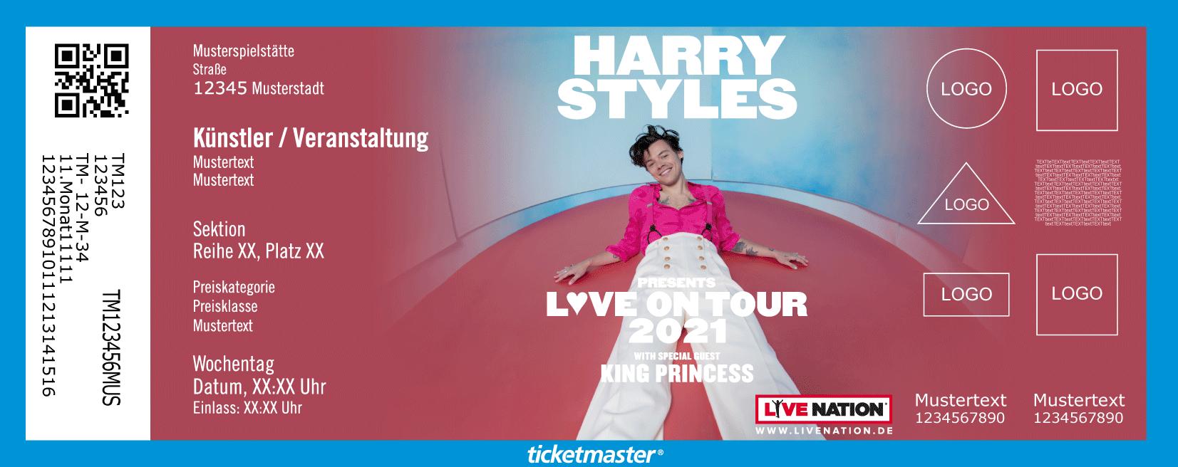 Harry Styles Tour 2020.Harry Styles Tickets In Berlin On 2020 04 29