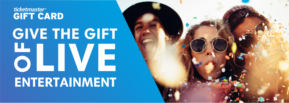Give the Gift of Live Entertainment