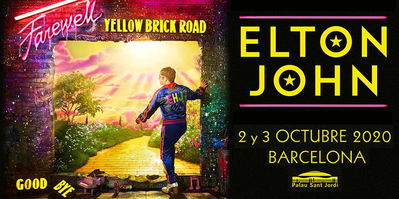 Elton John Barcelona 2020
