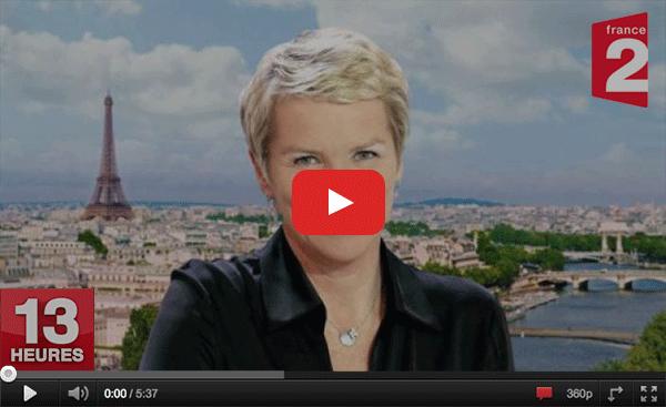 Voir la vidéo en replay sur Youtube - colis voiturage Cocolis au JT de 13h France 2