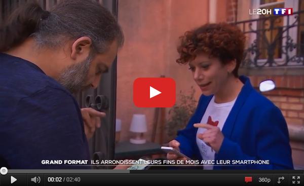 Visualiser la vidéo de Cocolis (covoiturage de colis ou colis voiturage) sur TF1 au JT de Gilles Bouleau