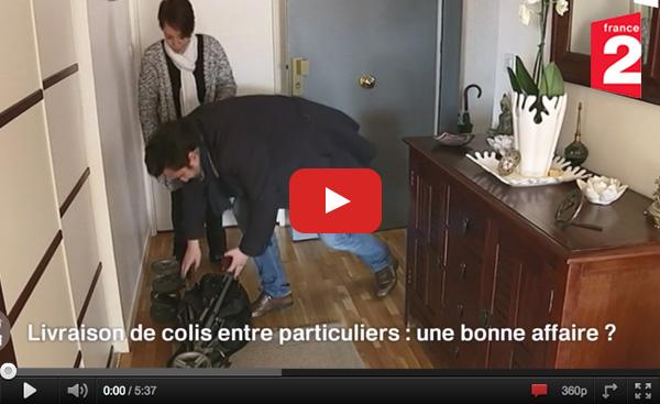 Voir la vidéo en replay - émission C'est Au Programme Cocolis Covoiturage de Colis