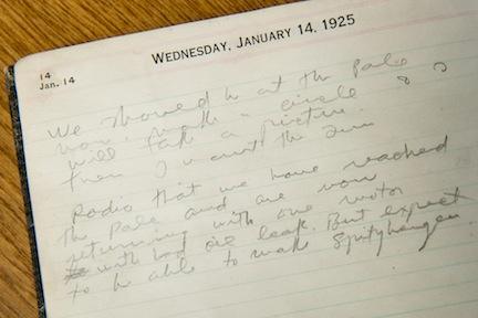 Byrd diary