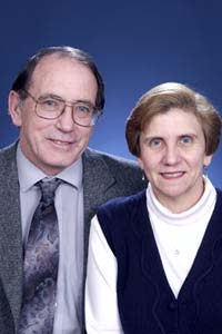 Lonnie Thompson and Ellen Mosley-Thompson