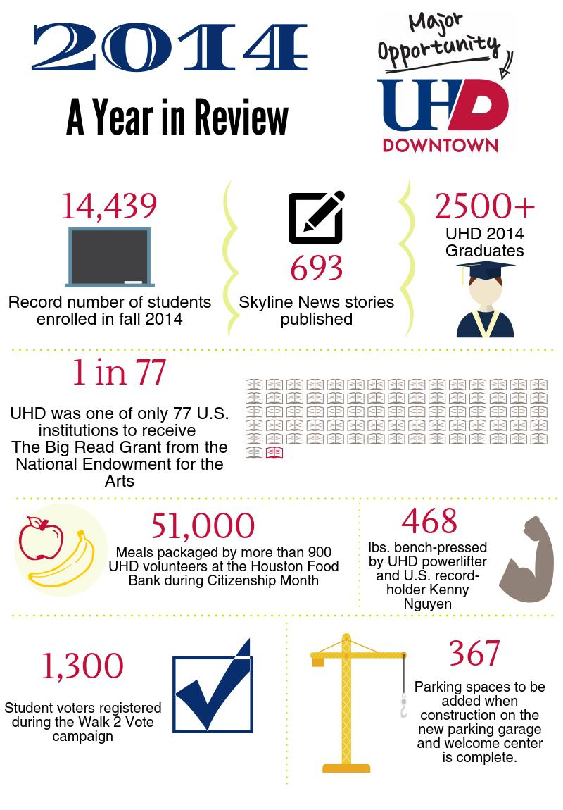2014 in review infographic