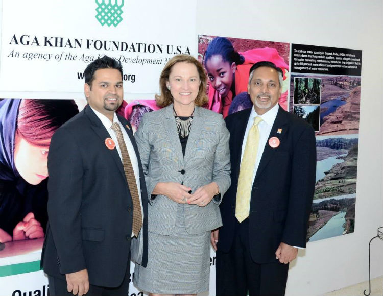 Aga Khan Foundation opening ceremony
