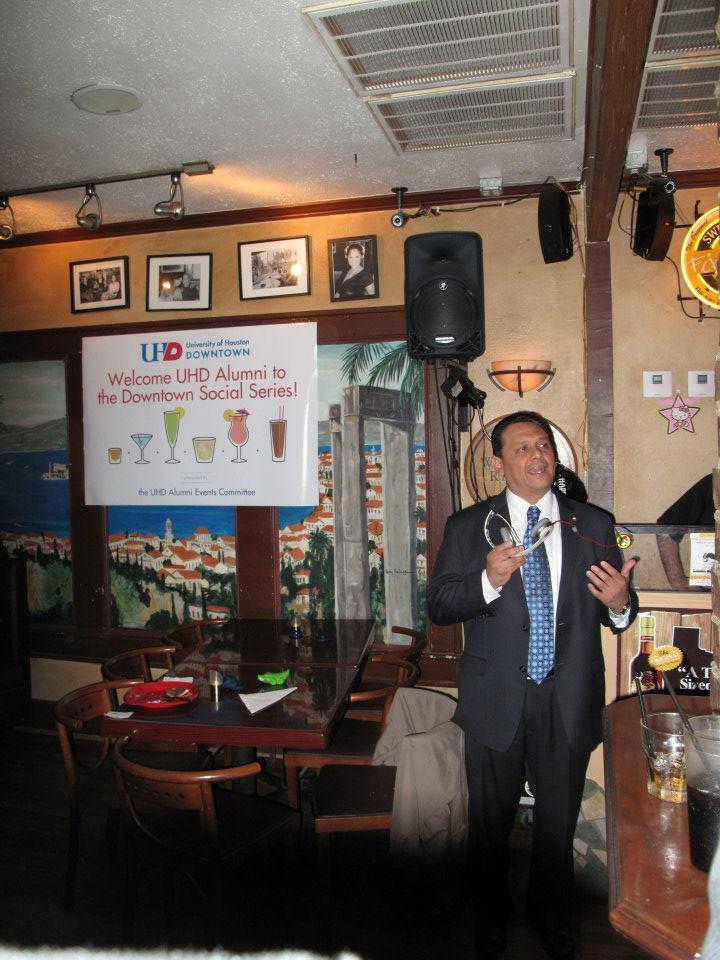 Special guests, City Councilmember Ed Gonzalez.