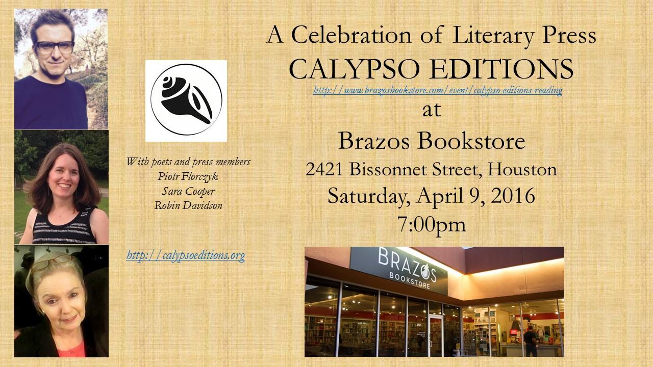 Calypso Brazos Event