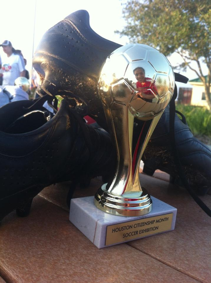 Citizenship Soccer Month Showcase Trophy