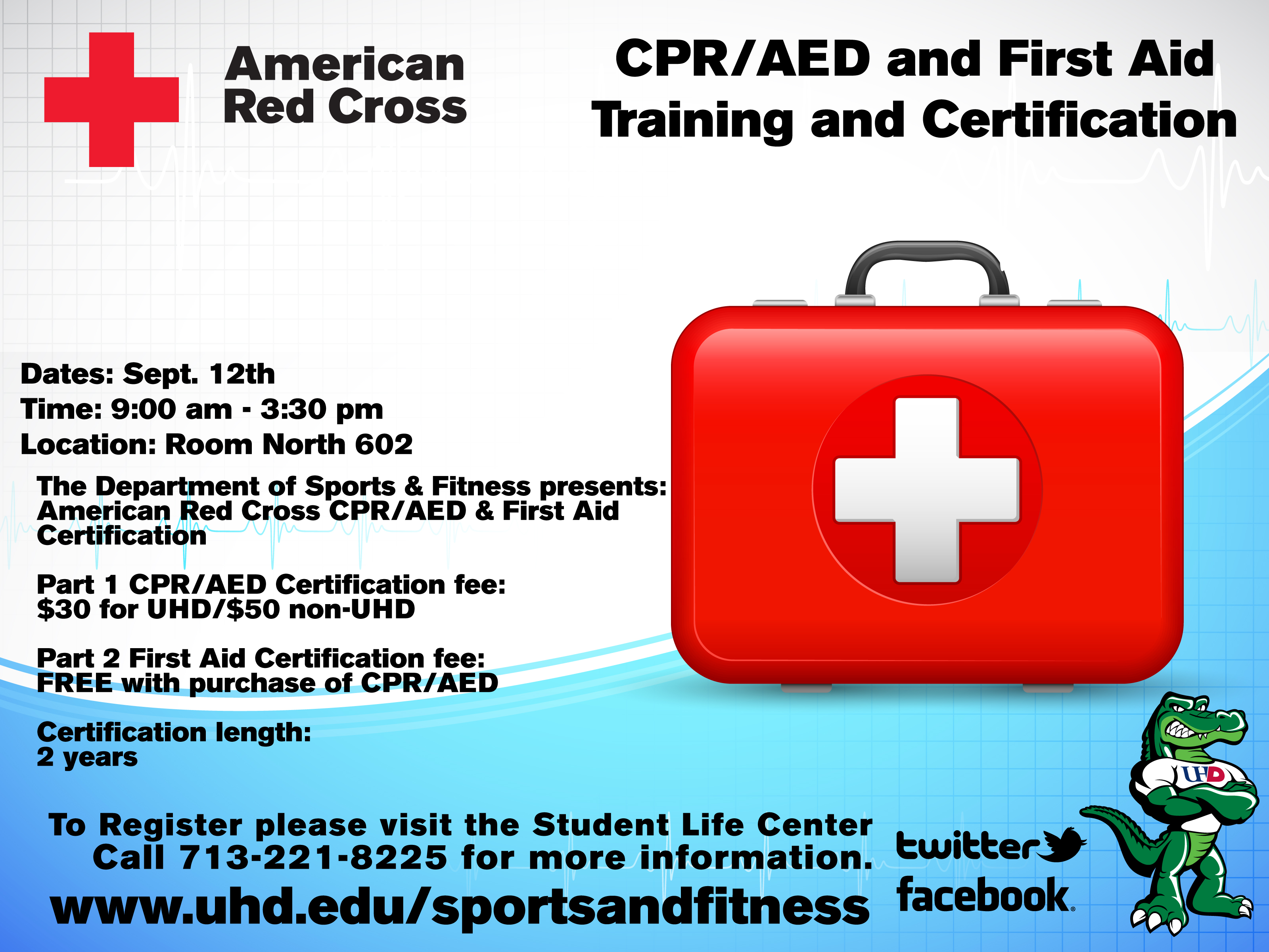 Sports And Fitness Offering Cpr Classes And Weight Loss Challenge