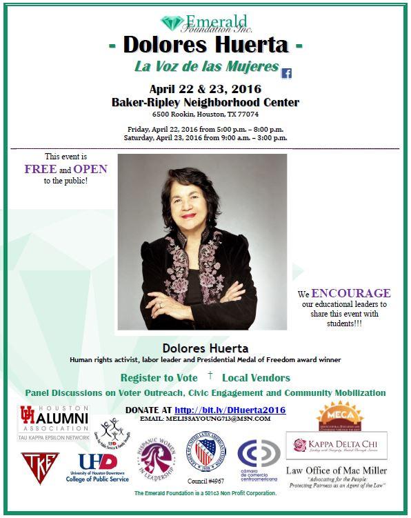 Dolores Huerta Flyer (4 07 2016)