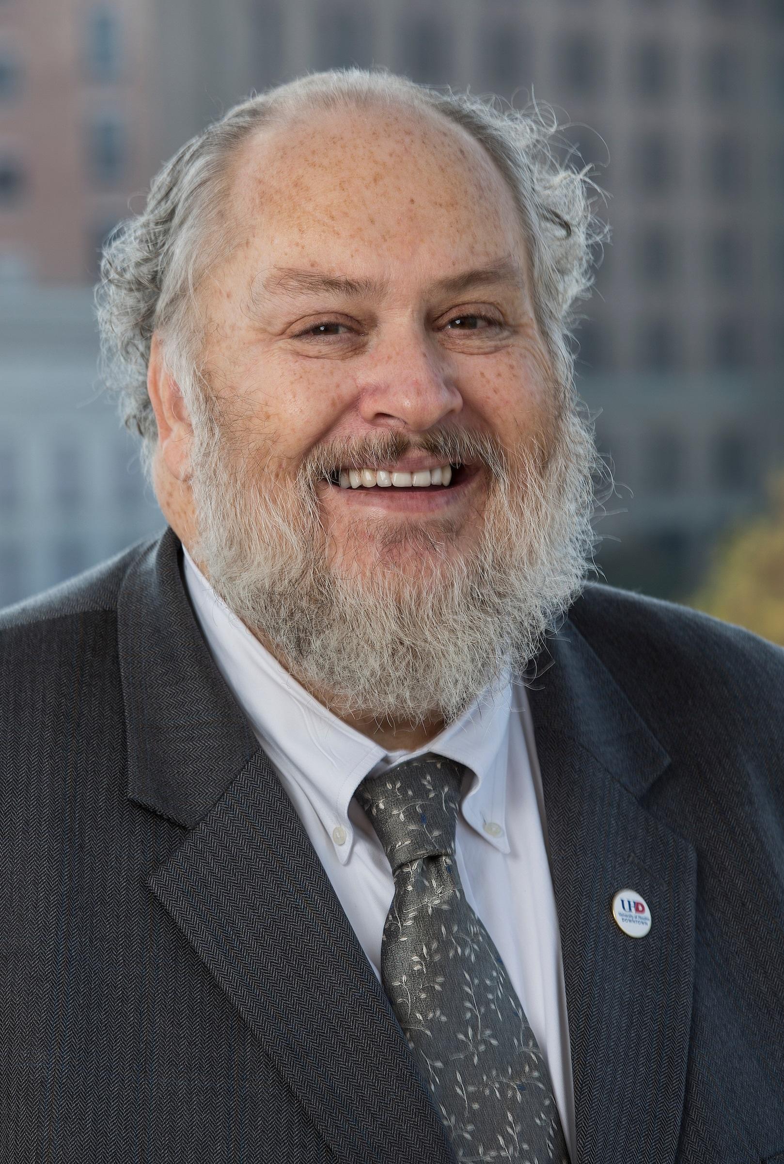 UHD Interim President Michael A. Olivas
