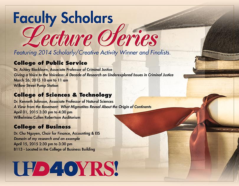 Faculty Scholars Flyer