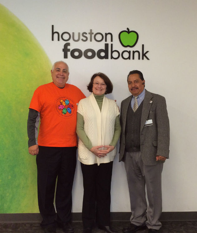 Citizenship Month 2014 Food bank volunteers