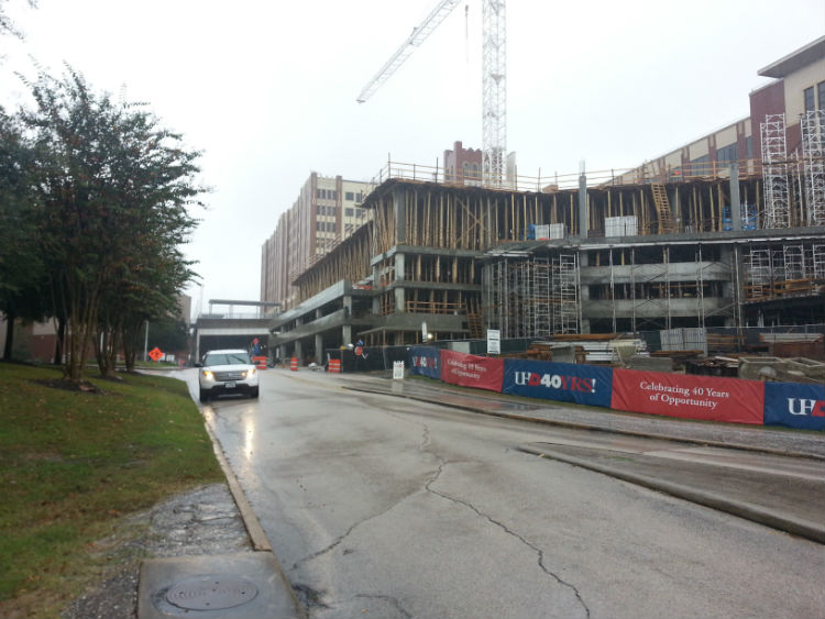 Academic Building Garage Construction