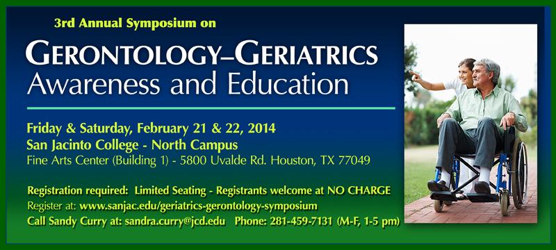 Gerontology Symposium 2014