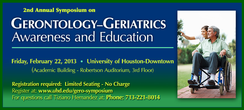 Gerontology Symposium
