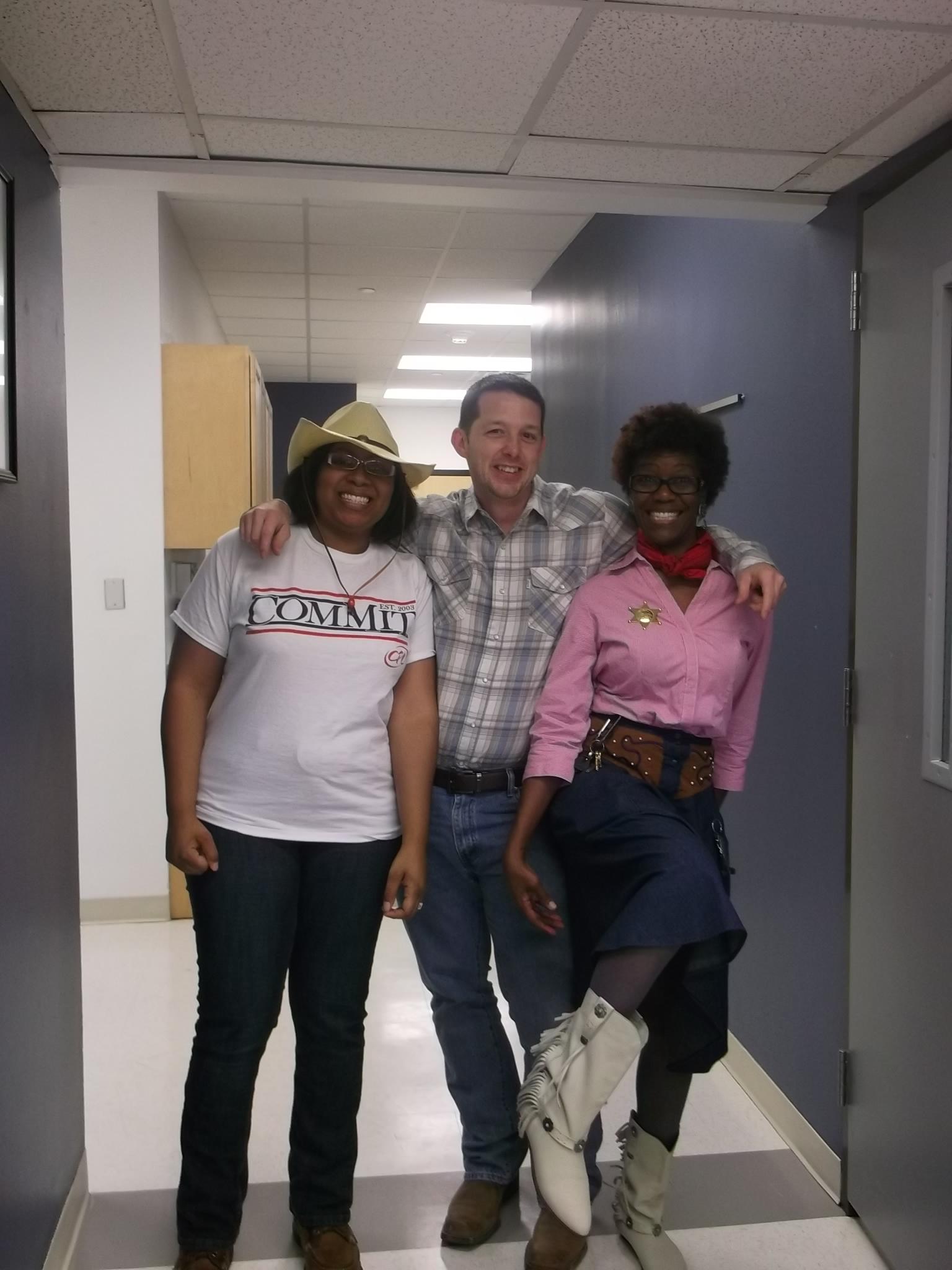 UHD Facilities: Lynett, Debora Evans, Eric