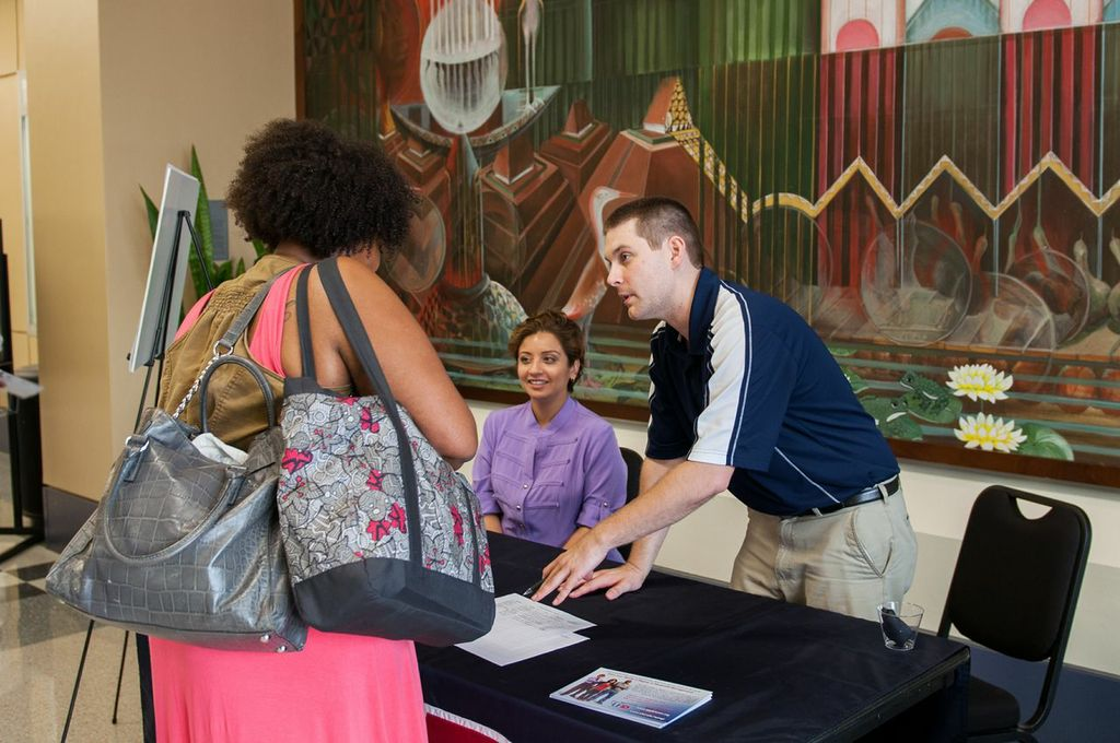 The UHD Graduate Expo provided answers and information about our exceptional graduate programs.