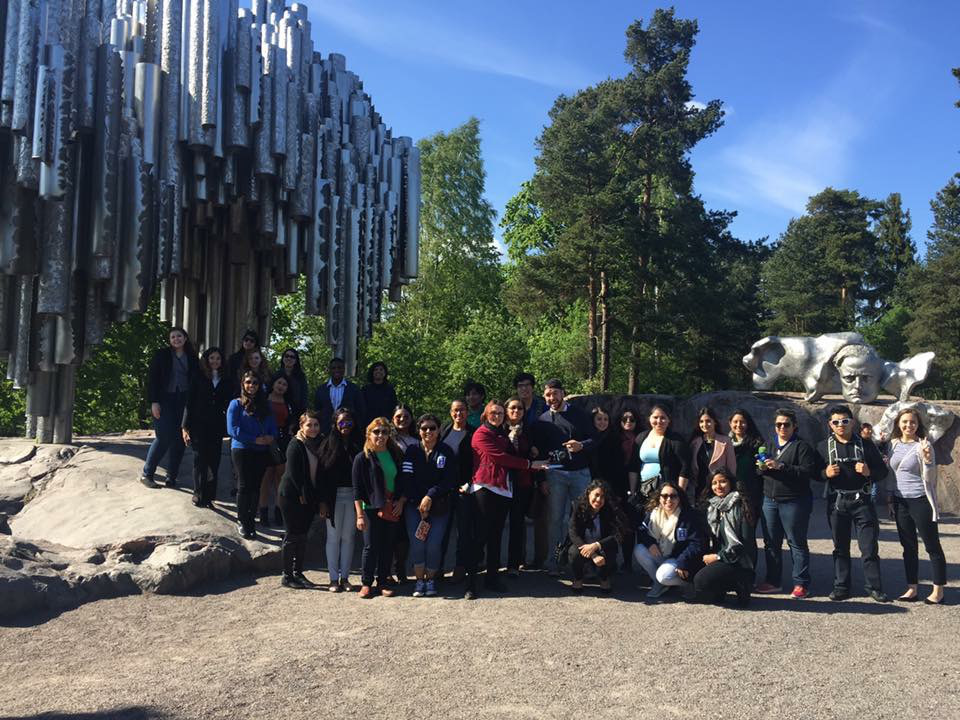 University Honors Students Visit Finland and Sweden.