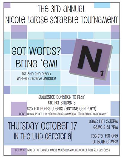 larose scrabble tourney