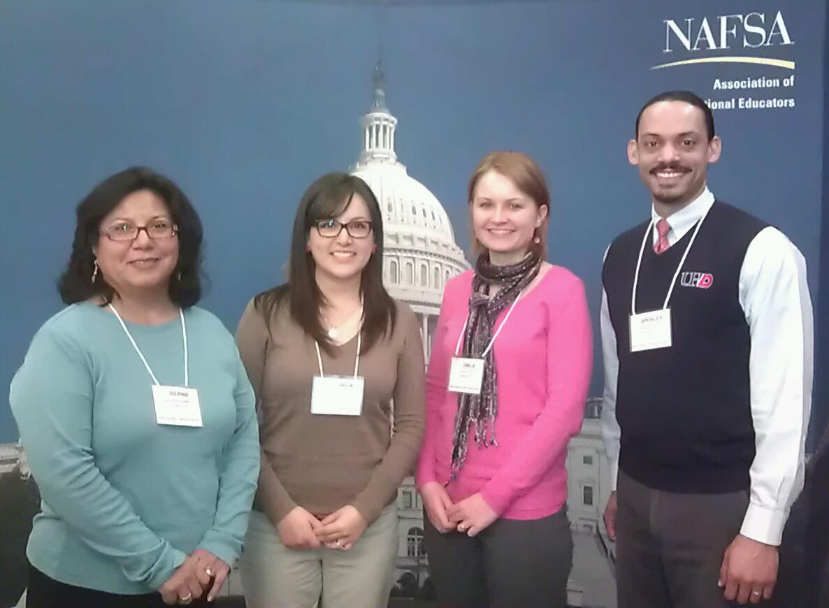 Lightsy with other members of NAFSA during Advocacy Day.