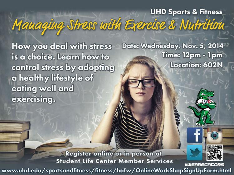 managing stress workshop
