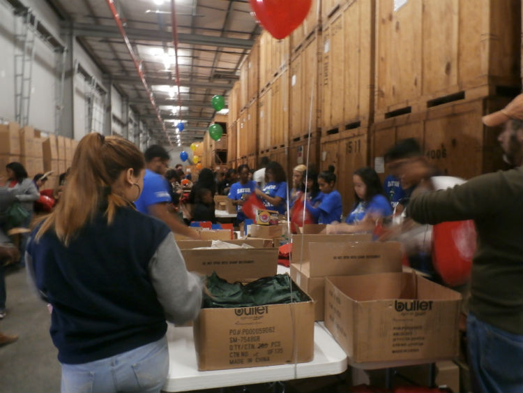 Volunteer Houston St. Nicholas Packing Party