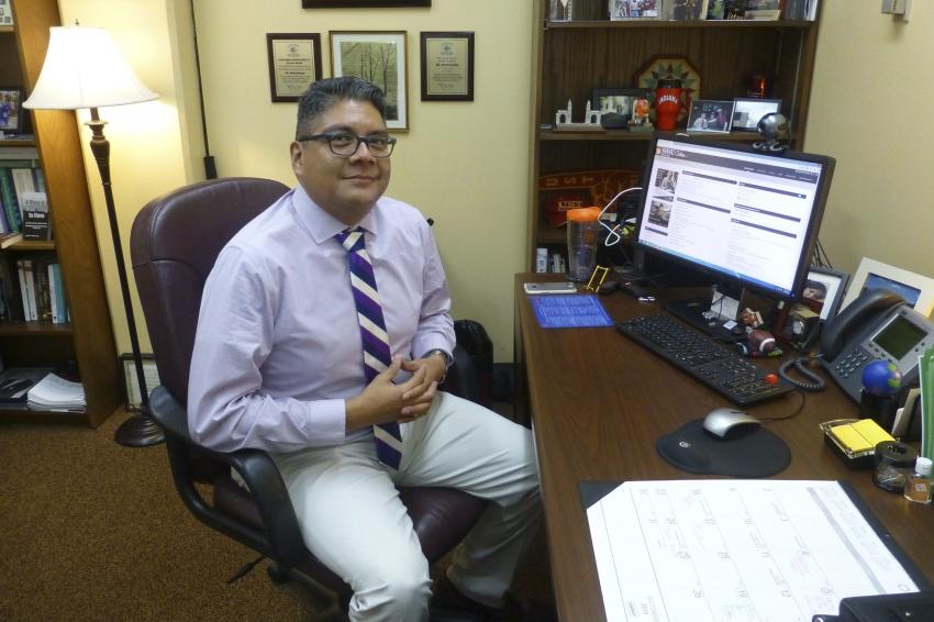 Sam Houston State University professor Ricardo Montelongo.