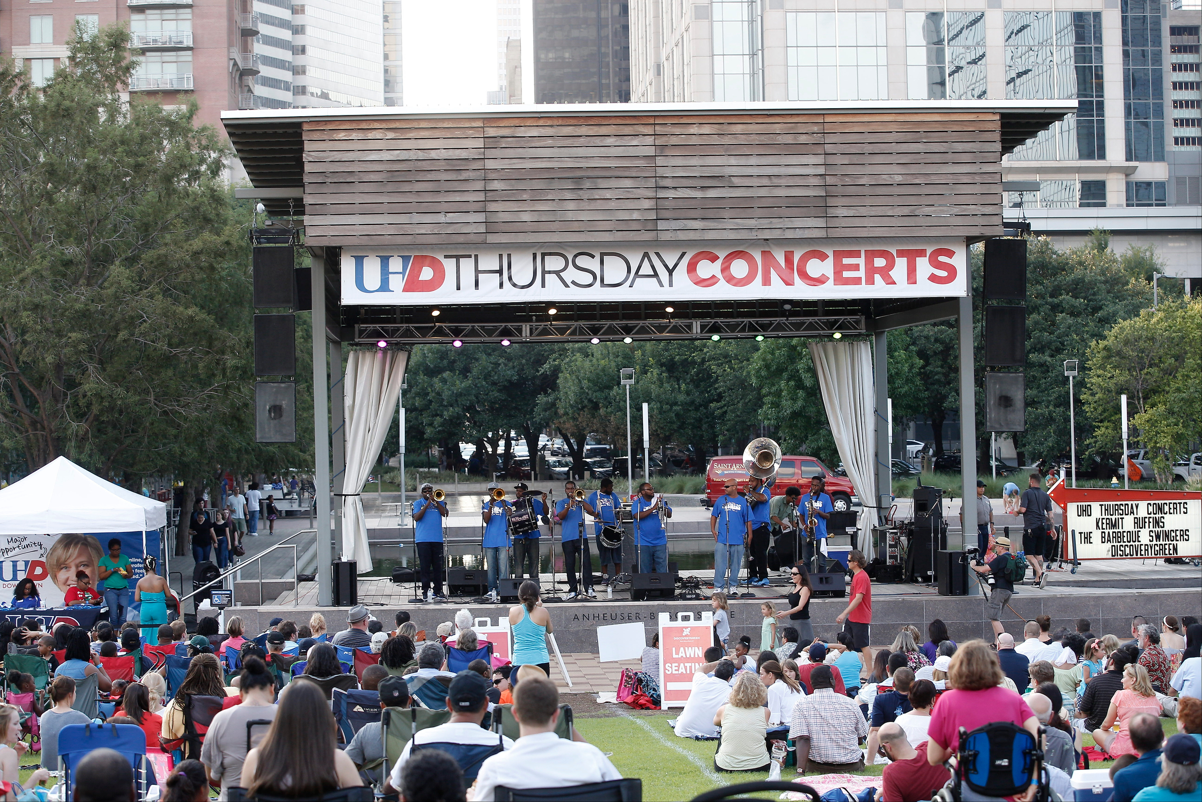 June 30, 2016: UHD Discovery Green concert series in Houston, TX.