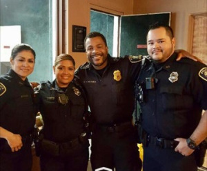 UHD Police Department Blesses Family with Thanksgiving Feast