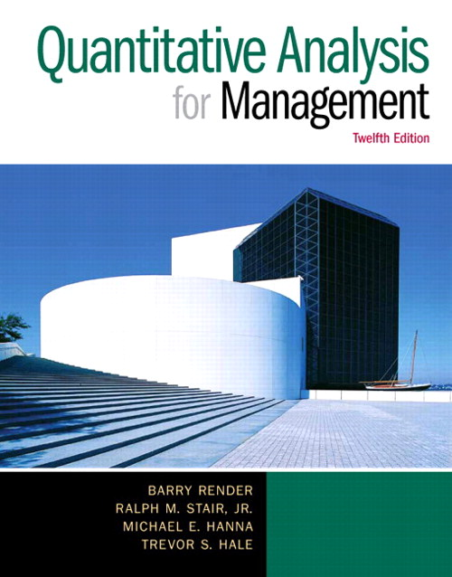 Quantitative Analysis for Management Cover
