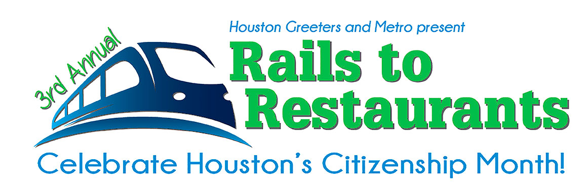 Third Annual Rails to Restaurants Logo