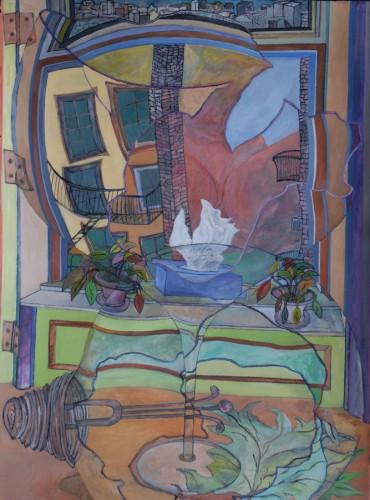 """Larry Rushing's """"Window View"""""""