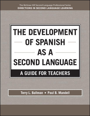 The Development of Spanish as a Second Language 9780078037085
