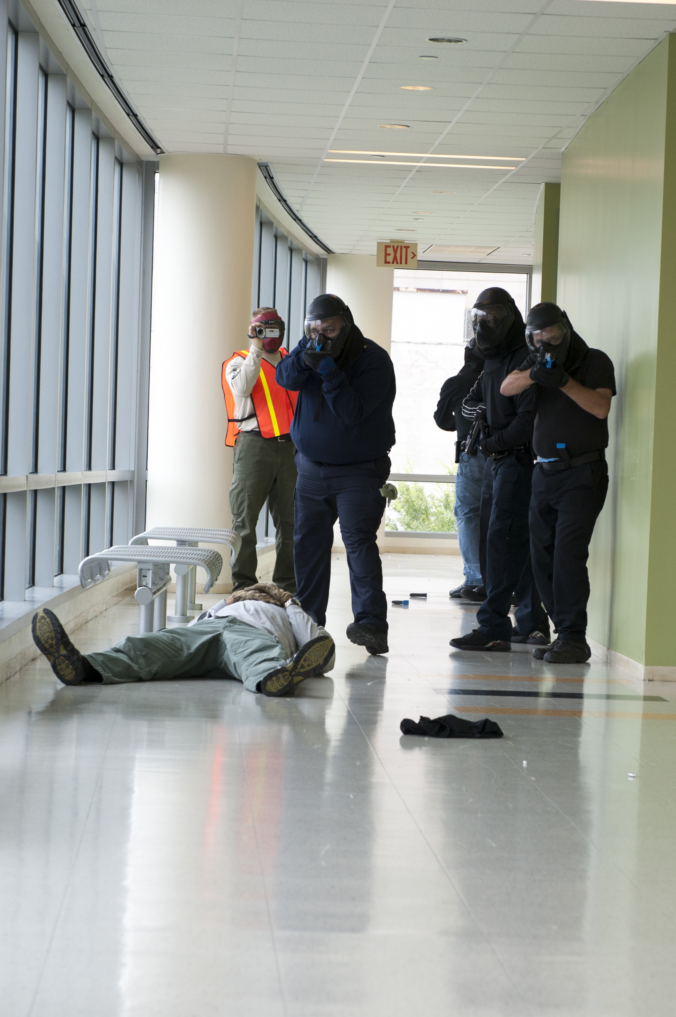 Active Shooter Training at UHD. August 20, 2013