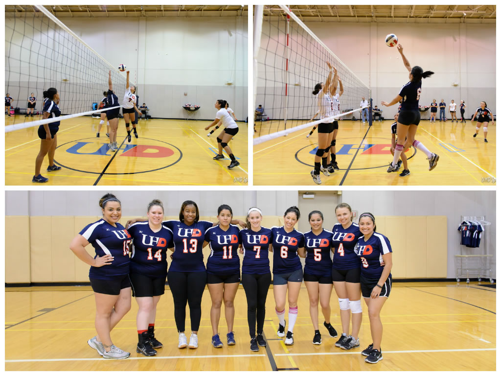 UHD Volleyball Alumni Game