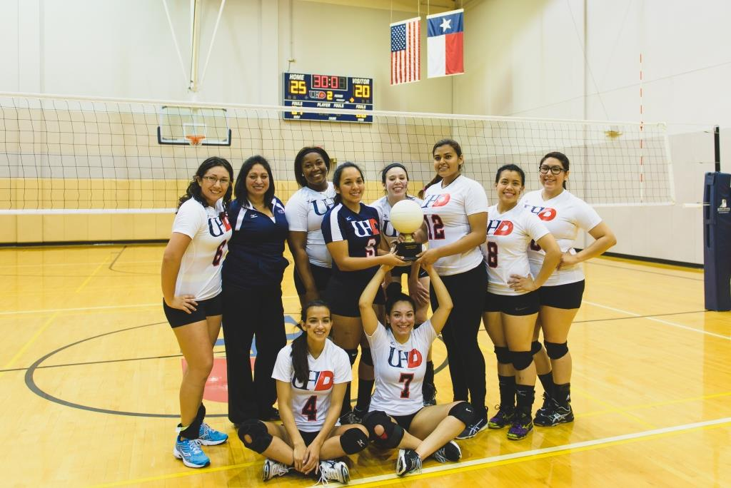 First row sitting, left to right; Coryn Wolf, Lorena Padron Second row standing;  Hatziri Rancon, Coach Alicia Nava, Ashley Carter, Yolanda Melendez, Carissa Moran, Claudia Avalos, Dorthy Tran, Maria Gaspar