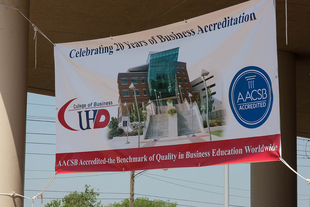 UH Downtown College of Business celebrates 20 years of AASCB Business Accreditation