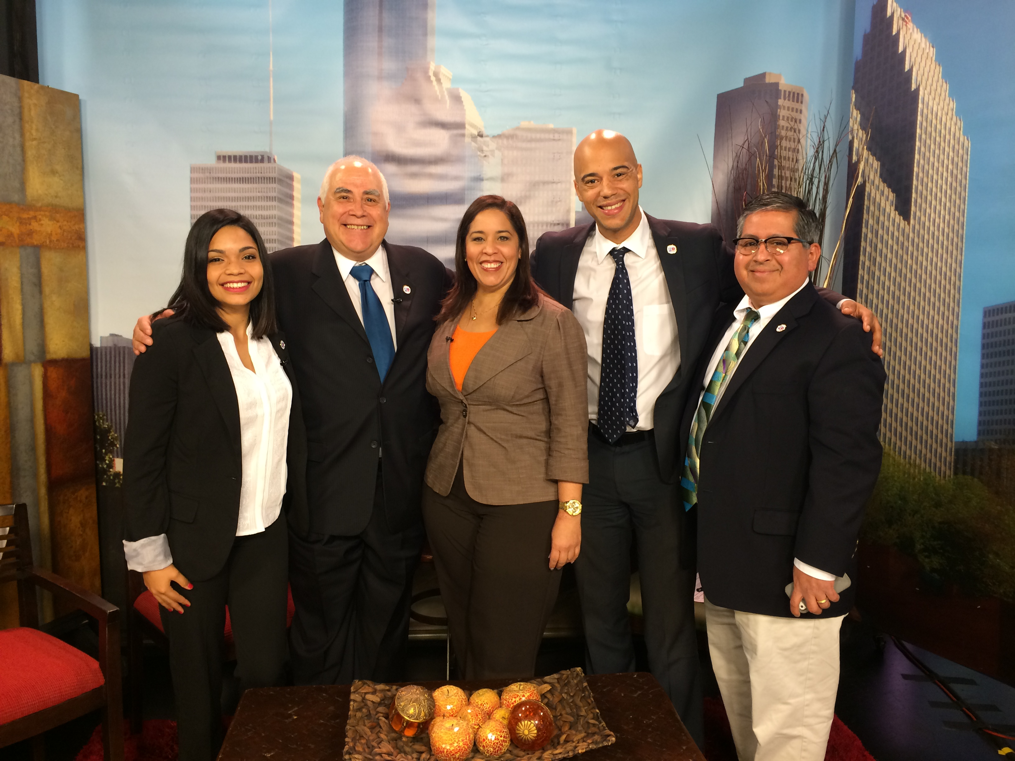 UHD representatives interviewed at Univision
