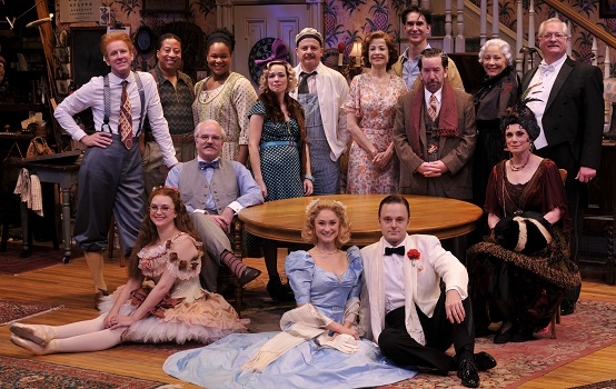 Photo from the Alley Theatre. David Rainey pictured second from left, top row.