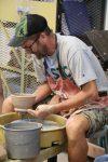 Art faculty bowls donation Food Bank