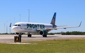 Frontier arrival