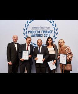 Developer of the Year, EMEA Project Finance Magazine 2016