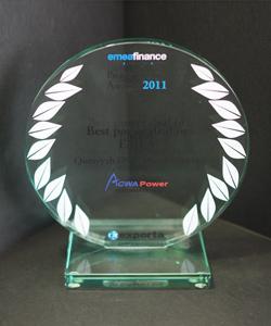 BEST POWER DEAL IN EMEA QURAYYH PROJECT 2011